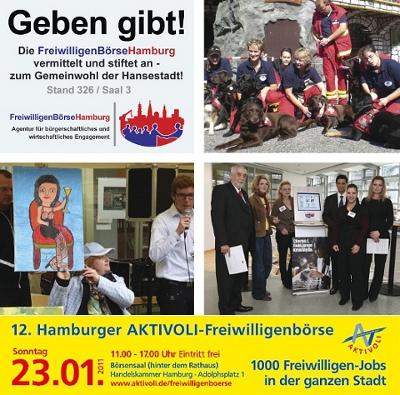 12. AKTIVOLI Freiwilligenbörse Hamburg