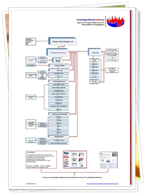 Struktur der FreiwilligenBörseHamburg