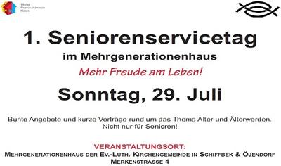 1. Seniorenservicetag