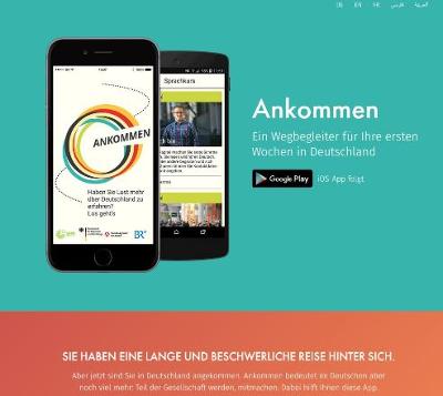 ankommenapp.de - Ein Wegbegleiter für Ihre ersten Wochen in Deutschland