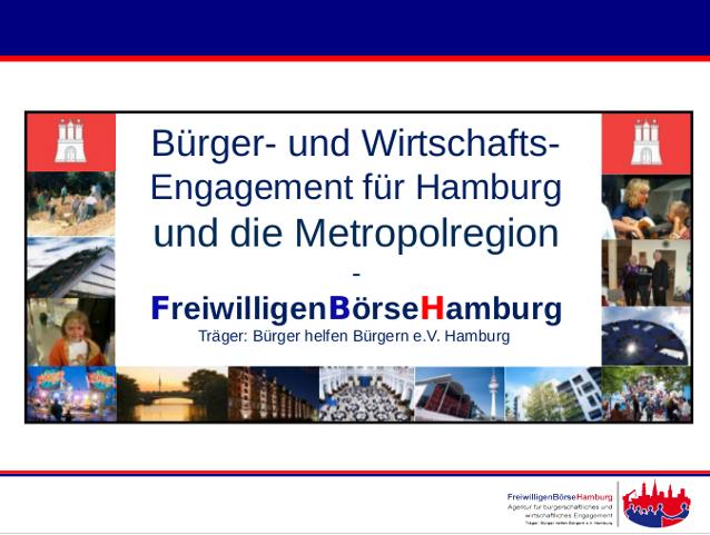 Bürger- und Wirtschaftsengagement für Hamburg und die Metropolregion