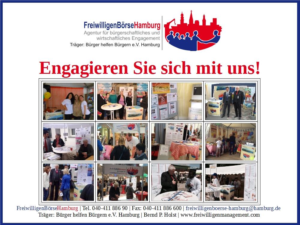 Frühlingsfest Hamburg 2016 - Engagieren Sie sich mit und!