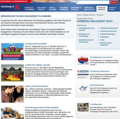Engagement in der Metropolregion Hamburg