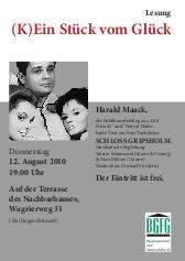 Harald Maack Buchlesung