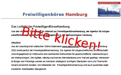 Leitbild der FreiwilligenBörseHamburg