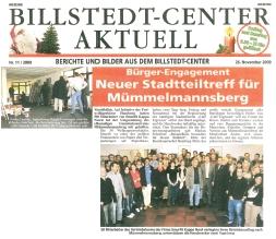 Neuer Stadtteiltreff für Mümmelmannsberg