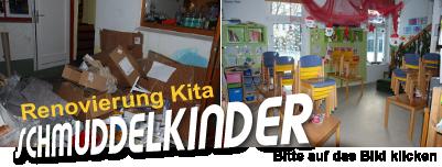 Renovierung der Kita Schmuddelkinder