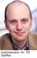 Justizsenator Dr. Till Steffen