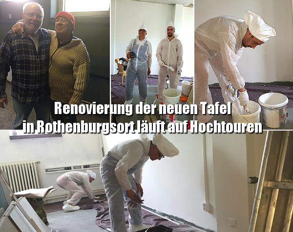 Renovierung der neuen Tafel in Rothenburgsort läuft auf Hochtouren