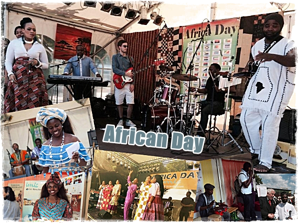 African Day 2016 in Wandsbek