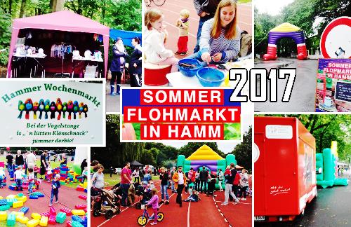 Sommer-Flohmarkt in Hamm 2017