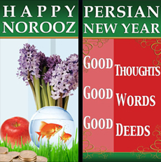Happy Norooz - Persian New Year