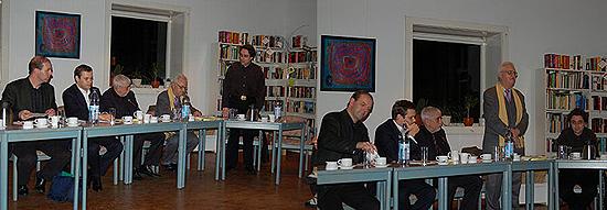 Erfolgreicher Verlauf der Podiumsdiskussion mit Vertretern der SPD, FDP, GAL und der Linken